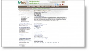 Ohio Applicator Information